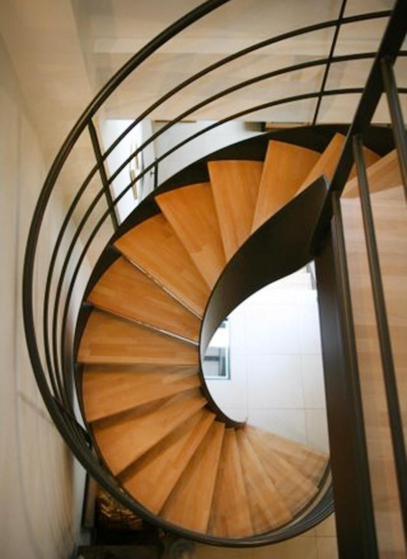 Escaliers Interieurs Pour Un Hotel Particulier Ehi