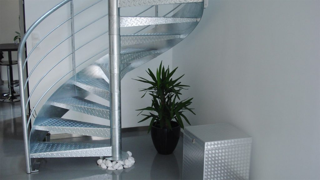 escalier-galvanise