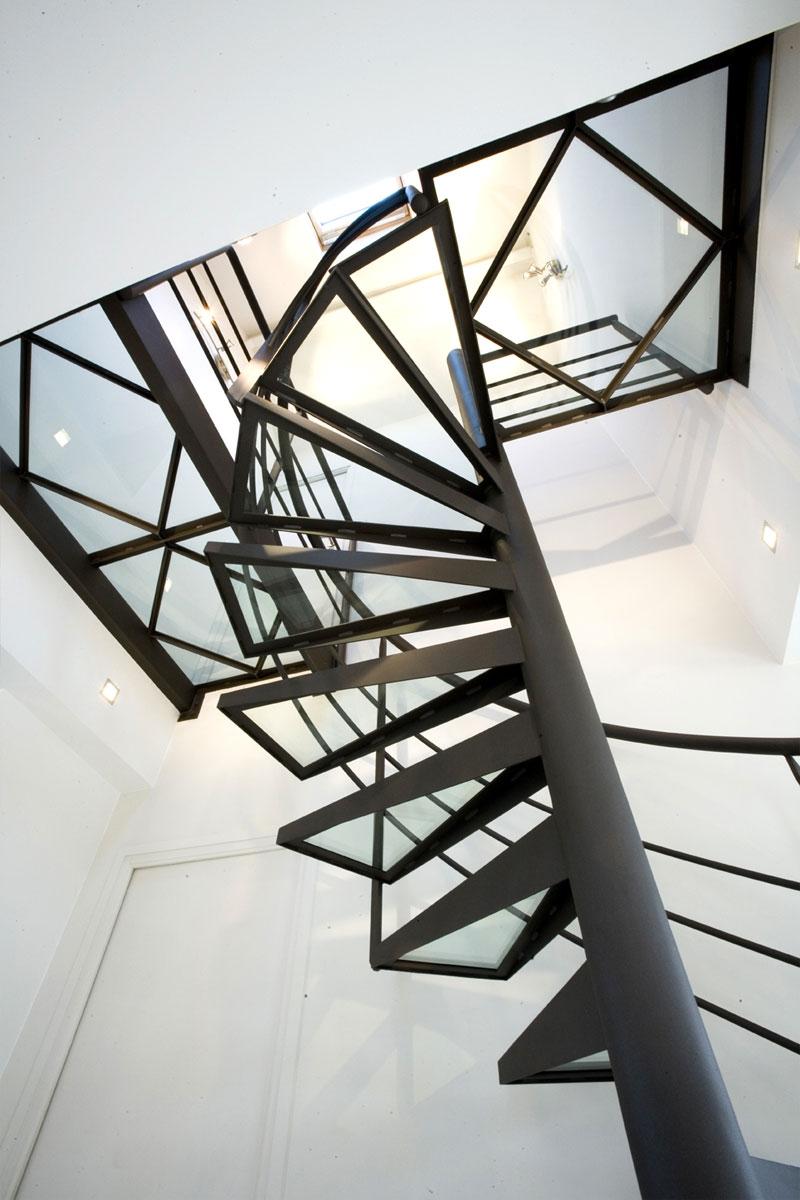 Escalier Marches Et Passerelle En Verre Ehi Escalier