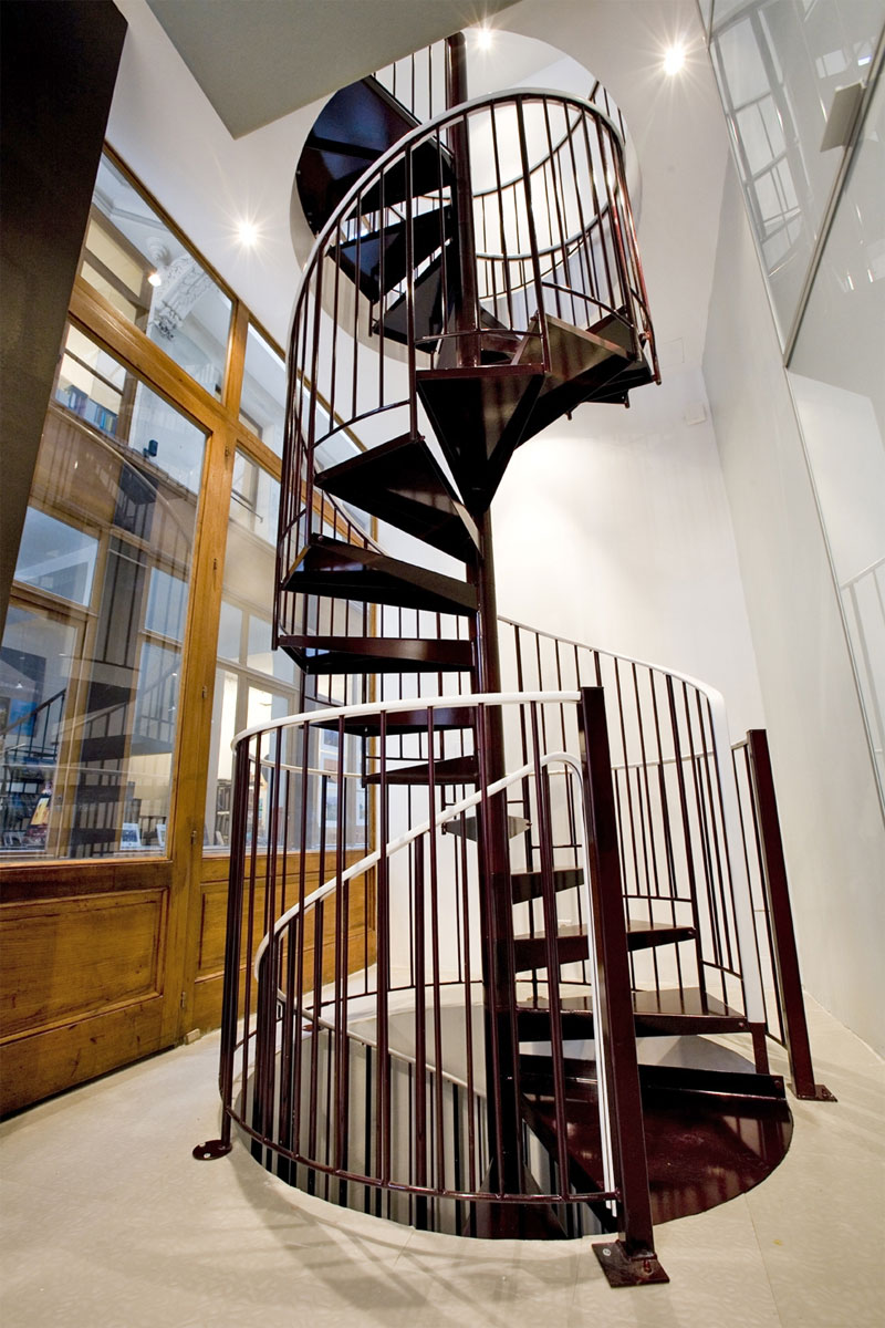 Escalier Helicoidal Deux Niveaux
