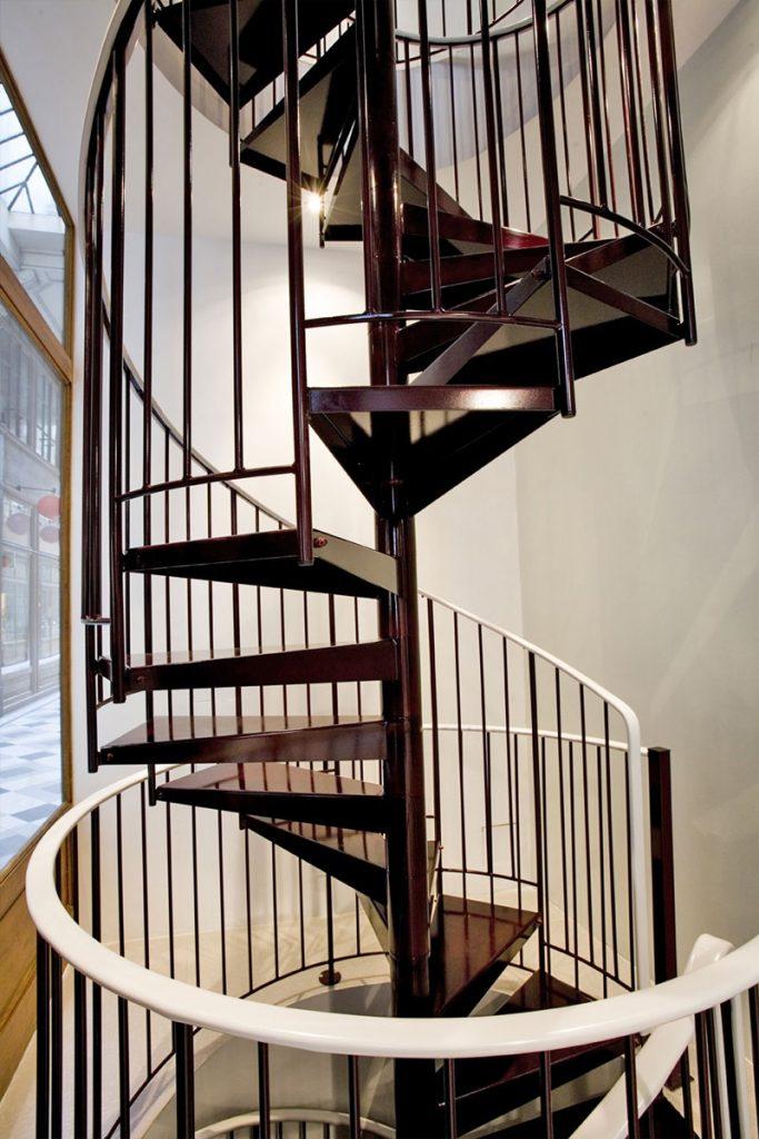 Escalier sur 2 niveaux