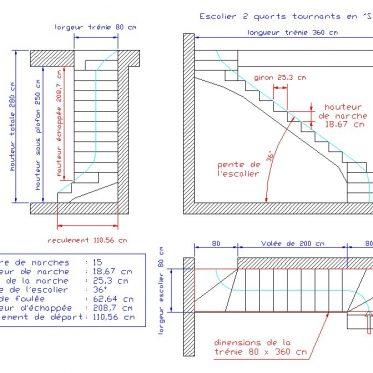 normes escaliers rampes et garde corps ehi escalier. Black Bedroom Furniture Sets. Home Design Ideas