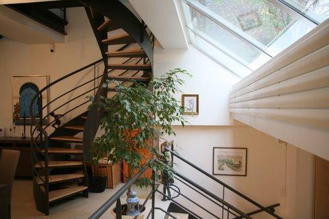 escalier balancé