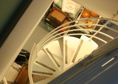 escalier dangereux
