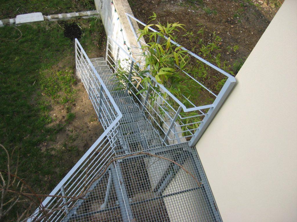 escalier ext 233 rieur droit marches caillebotis ehi escalier h 233 lico 239 dal industriel
