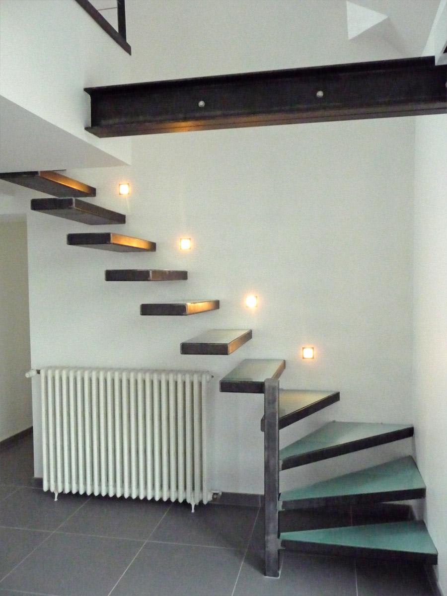 Escalier A Marches En Console Un Blog Sur Les Escaliers
