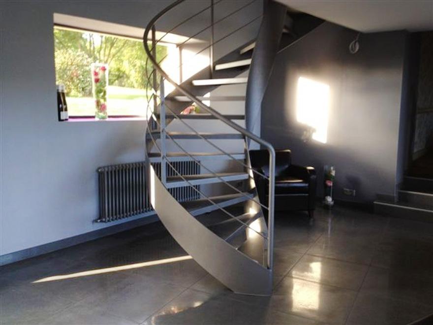 Escalier Balance Sur Un Demi Tour Ehi Escalier