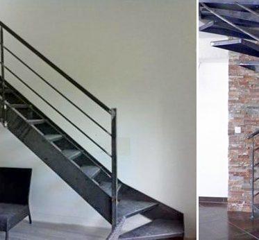 Ehi escalier h lico dal industriel escaliers m talliques sur mesure - Marche d escalier en aluminium ...