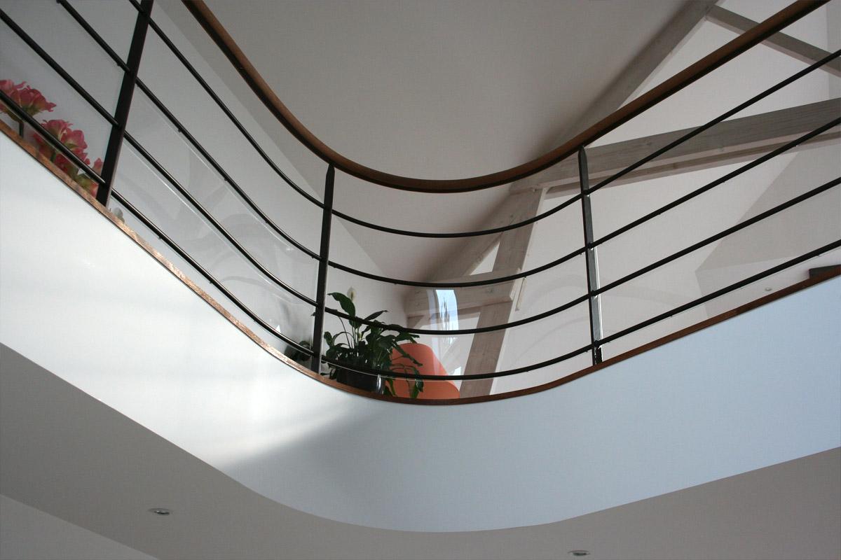 Garde corps pour une mezzanine ehi escalier h lico dal industriel - Garde corps plexiglas prix ...